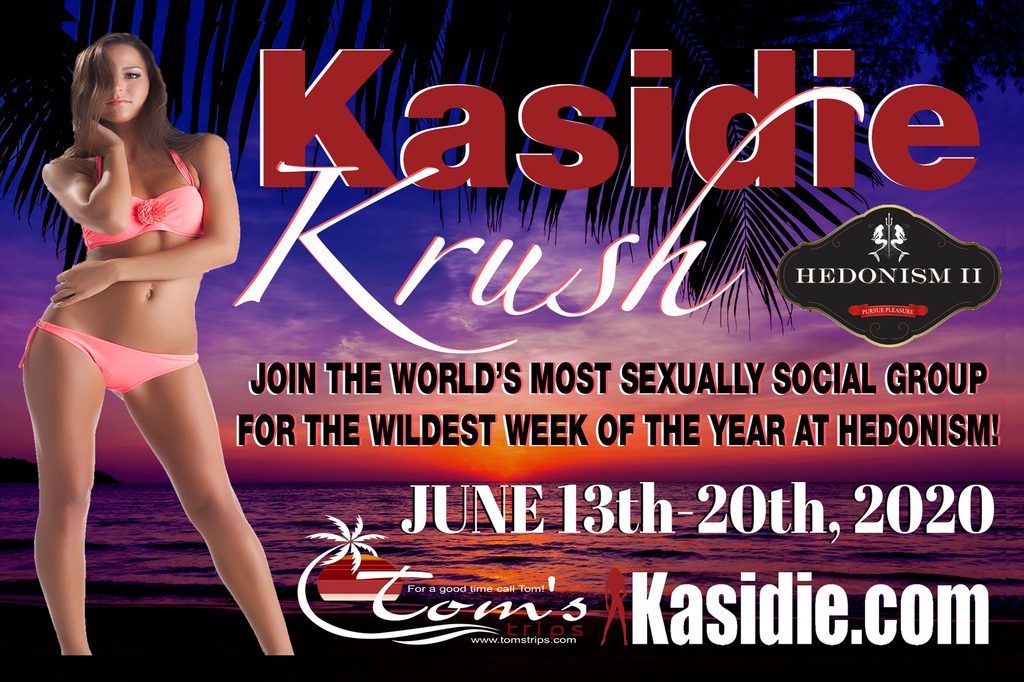 Join Hub City Select for Kasidie Krush Week at Hedonism 2020